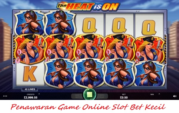 Penawaran Game Online Slot Bet Kecil